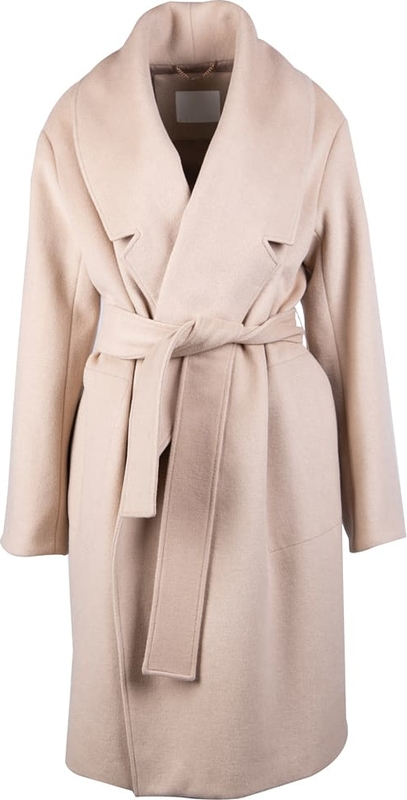Różowy płaszcz MEXX w stylu casual