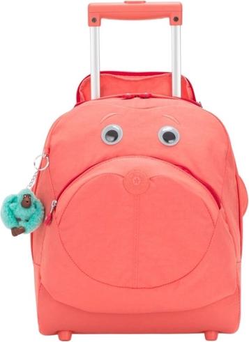 Różowy plecak Kipling