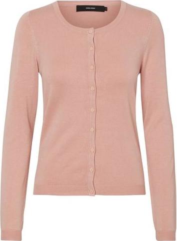 Różowy sweter vero moda