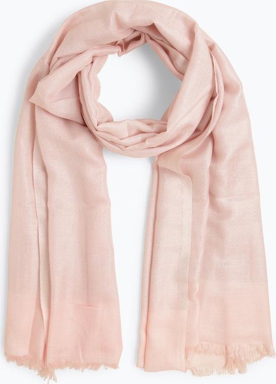 Różowy szalik Marie Lund