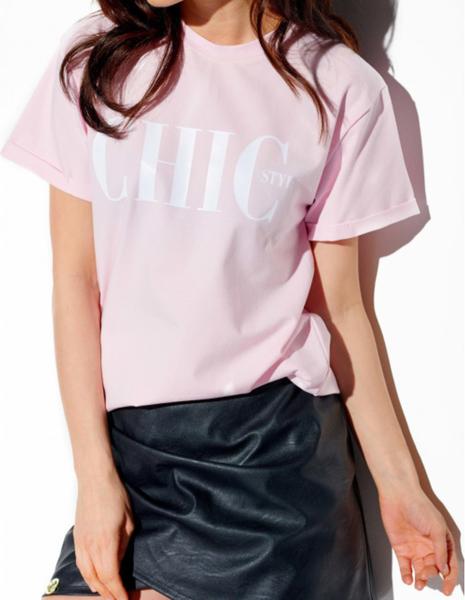 Różowy t-shirt Lemoniade