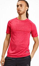 Różowy t-shirt Puma