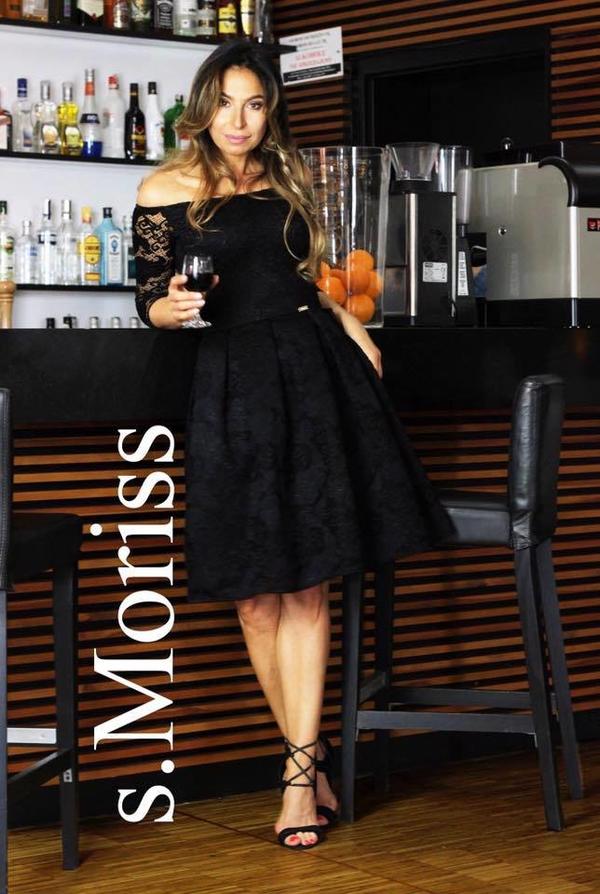 4e0b85573d S.moriss sukienka scarlet midi czarna