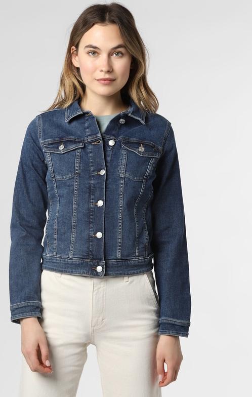 s.Oliver - Damska kurtka jeansowa, niebieski