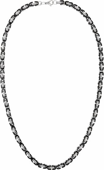 SADVA Łańcuch bizantyjski z czarnymi elementami