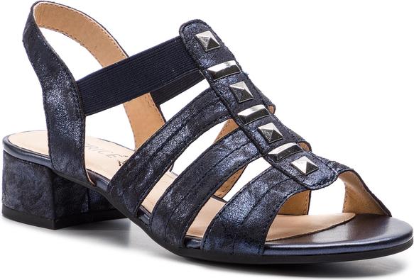 Sandały Caprice na słupku w stylu casual