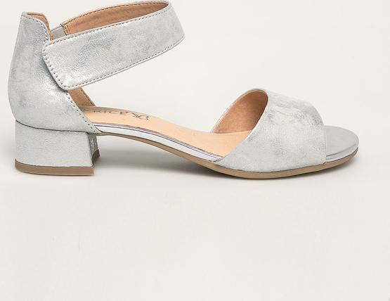 Sandały Caprice w stylu casual na obcasie