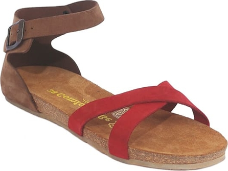 Sandały Comfortfusse z nubuku