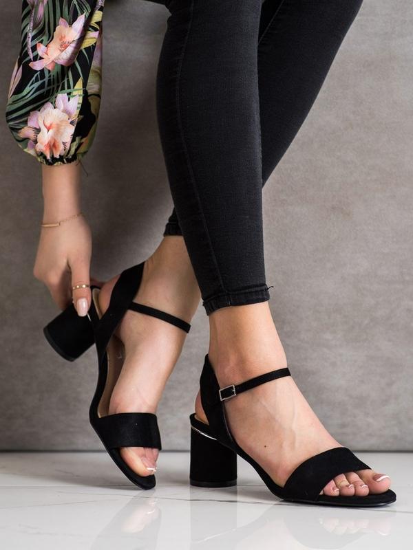 Sandały Czasnabuty z zamszu