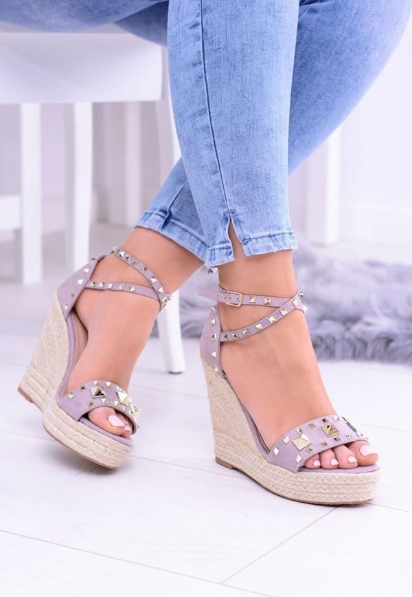 Sandały FLORENCE w stylu casual na platformie