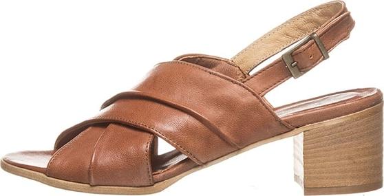Sandały Otto Kern w stylu casual ze skóry