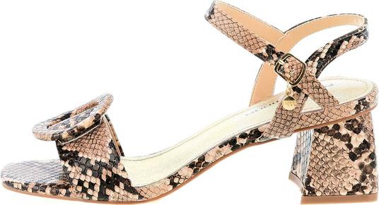 Sandały Prima Moda na średnim obcasie