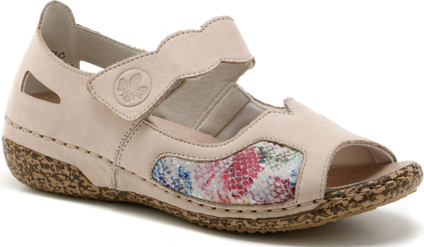Sandały Rieker w stylu casual