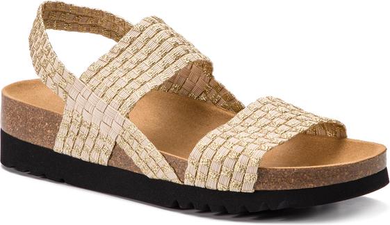 Sandały Scholl w stylu casual ze skóry ekologicznej