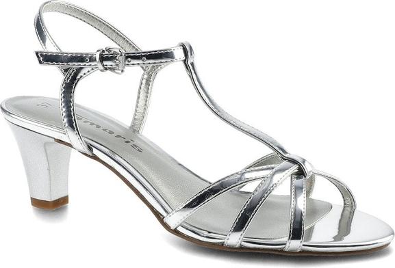 Sandały Tamaris w stylu klasycznym z klamrami