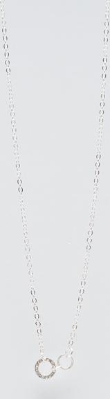 Sinsay - Łańcuszek z zawieszką - Srebrny