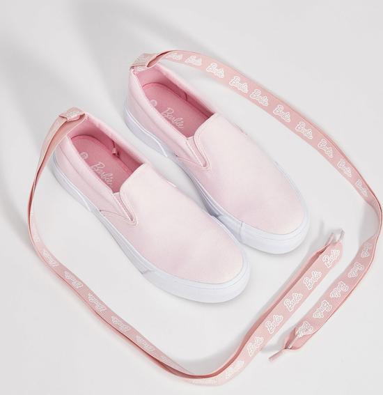 Sinsay - sneakersy z wiązaniem barbie - różowy