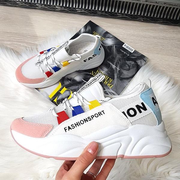 oferta Sneakersy sznurowane Buty Damskie Sneakersy VT GWBVVT