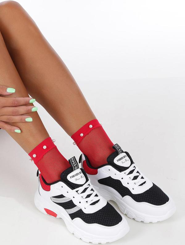 Sneakersy Casu sznurowane