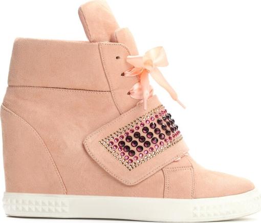 Sneakersy Multu na koturnie
