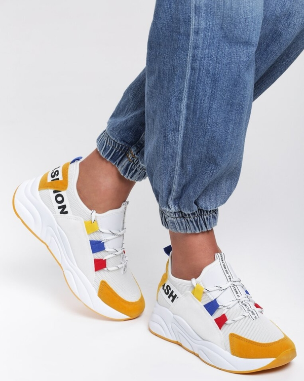 szyk Sneakersy Jordan sznurowane Buty Damskie Sneakersy XP