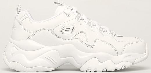 Sneakersy Skechers sznurowane na platformie