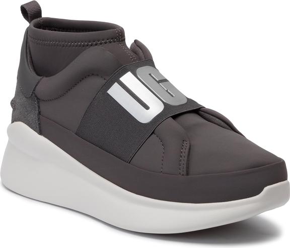 Sneakersy UGG Australia na platformie z nadrukiem