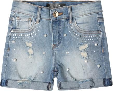 Spodenki dziecięce Guess z jeansu