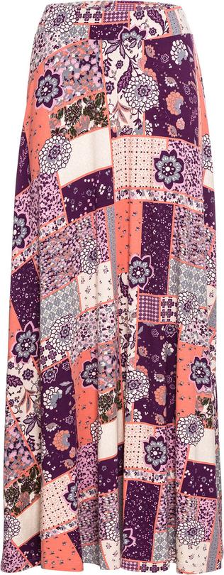 Spódnica bonprix RAINBOW w stylu boho midi