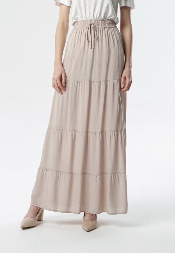 Spódnica born2be w stylu casual beżowe