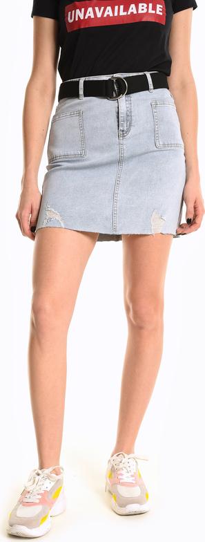 Spódnica Gate mini z bawełny w stylu casual