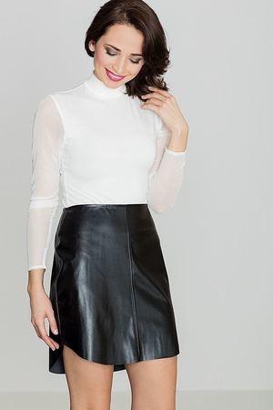 Spódnica LENITIF z tkaniny mini