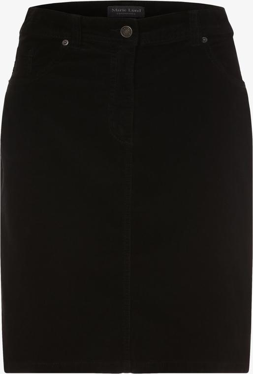 Spódnica Marie Lund mini w stylu casual ze sztruksu