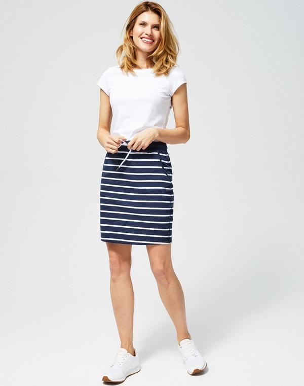 Spódnica Moodo mini w stylu casual z bawełny