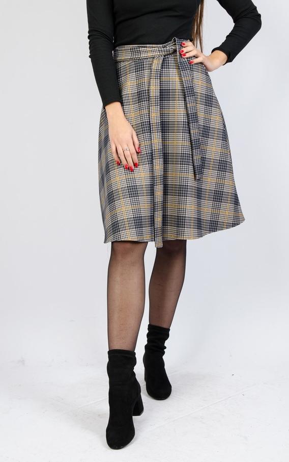 Spódnica Olika midi w stylu klasycznym