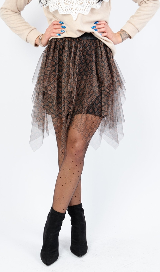 Spódnica Olika mini w młodzieżowym stylu