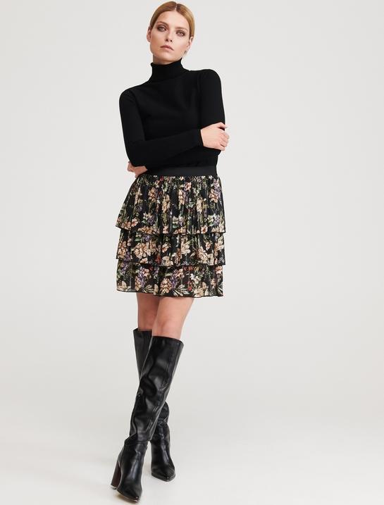 Spódnica Reserved mini w stylu boho