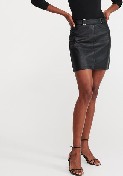 Spódnica Reserved mini ze skóry