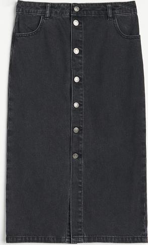 Spódnica Reserved z jeansu midi