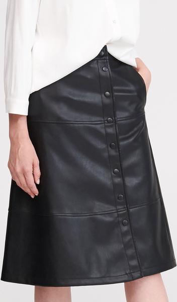 Spódnica Reserved ze skóry