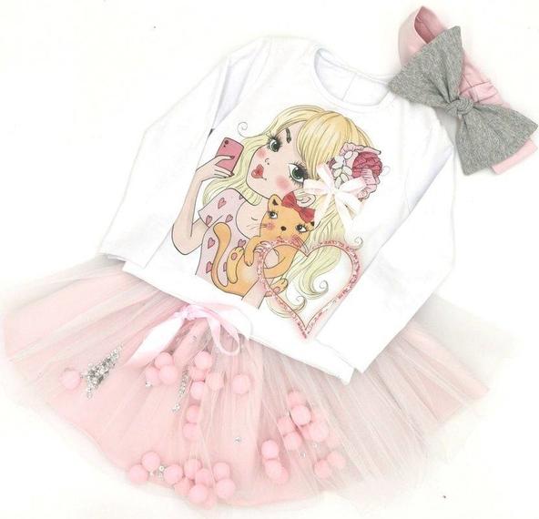 Spódniczka dziewczęca e-lily.pl z tiulu