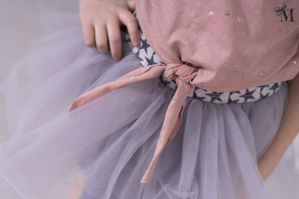 Spódniczka dziewczęca Mała Mi z tiulu