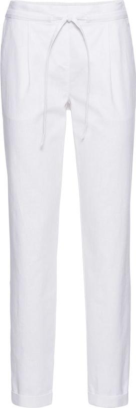 Spodnie bonprix bodyflirt z lnu
