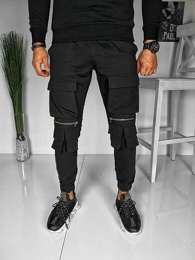 Spodnie Duuf w stylu casual