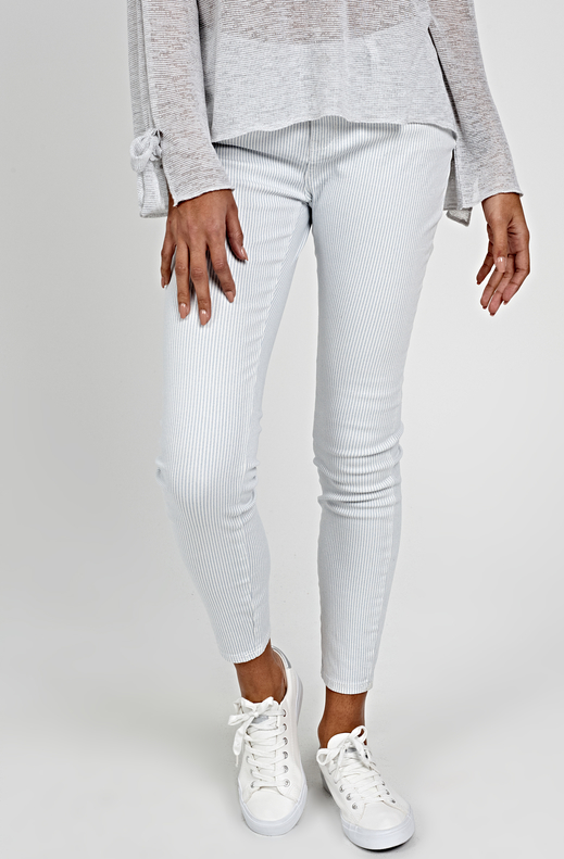 Spodnie Gate w stylu casual z bawełny