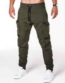 Spodnie Ombre Clothing z bawełny
