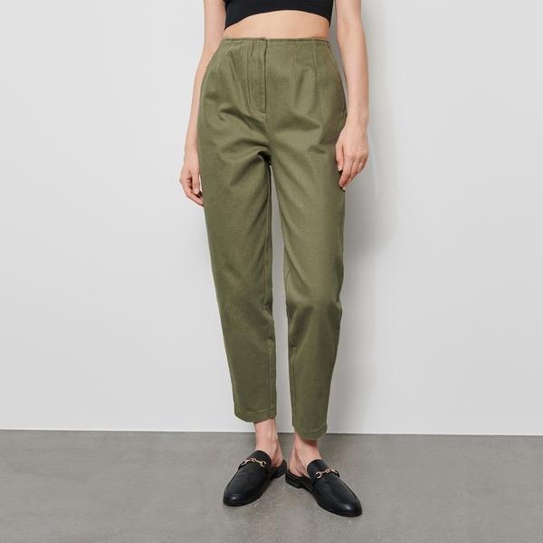 Spodnie Reserved z bawełny w stylu klasycznym