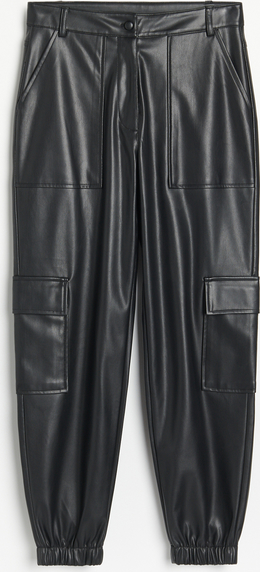 Spodnie Reserved ze skóry