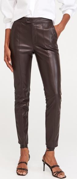 Spodnie Reserved ze skóry w rockowym stylu