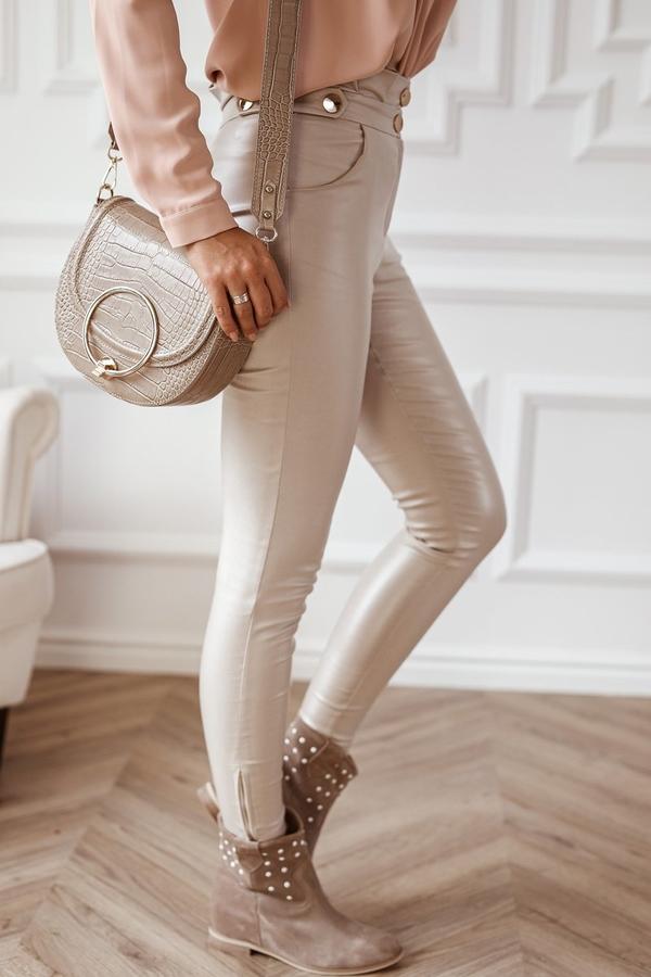 Spodnie Rose Boutique w rockowym stylu